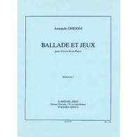 GHIDONI A. BALLADE ET JEUX COR