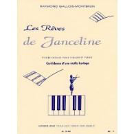 GALLOIS-MONTBRUN R. CONFIDENCE D'UNE VIEILLE HORLOGE VIOLON