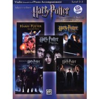 POTTER HARRY SELECTIONS INSTRUMENTAL SOLOS MOVIES 1-5 VIOLON