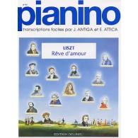 LISZT F. REVE D'AMOUR PIANO
