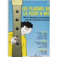BOURGOIN M.C. LES PLAISIRS DE LA FLUTE A BEC