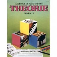 BASTIEN J. METHODE DE PIANO: THEORIE NIVEAU 3