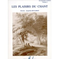 BONNARDOT J. LES PLAISIRS DU CHANT VOL 1 CHANT