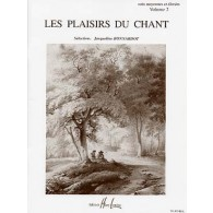 BONNARDOT J. LES PLAISIRS DU CHANT VOL 2 CHANT
