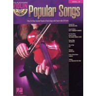 VIOLIN PLAY ALONG VOL 02 POPULAR SONGS VIOLON
