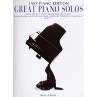 GREAT PIANO SOLOS EASY PIANO BLUE EDITION