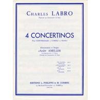 LABRO C. CONCERTINO N°2 OP 32 CONTREBASSE