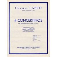 LABRO C. CONCERTINO N°3 OP 32 CONTREBASSE