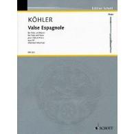 KOHLER E. VALSE ESPAGNOLE FLUTE