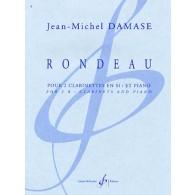 DAMASE J.M. RONDEAU 2 CLARINETTES