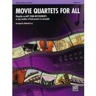 MOVIE QUARTETS FOR ALL ENSEMBLE VARIABLE PIANO CONDUCTEUR HAUTBOIS