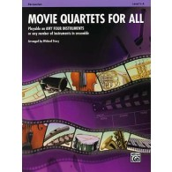 MOVIE QUARTETS FOR ALL PERCUSSION