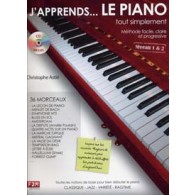 ASTIE C. J'APPRENDS... LE PIANO TOUT SIMPLEMENT