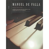 DE FALLA MUSIC FOR PIANO VOL 2