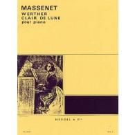 MASSENET J. WERTHER CLAIR DE LUNE PIANO