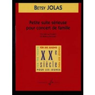 JOLAS B. PETITE SUITE SERIEUSE POUR CONCERT DE FAMILLE PIANO