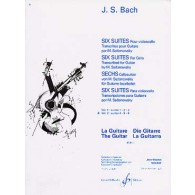 BACH J.S. SUITES POUR VIOLONCELLE VOL 2 GUITARE
