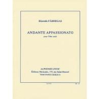 FABREGAS E. ANDANTE APPASSIONATO FLUTE