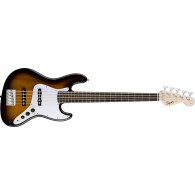 SQUIER AFFINITY JAZZ BASS V BROWN SUNBURST ROSEWOOD