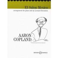 COPLAND A. EL SALON MEXICO PIANO