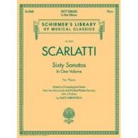 SCARLATTI D. 60 SONATES VOL 1 PIANO