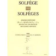 SOLFEGE DES SOLFEGES VOL 3C