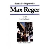 REGER M. OEUVRE COMPLETE VOL 3 ORGUE