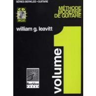 BERKLEE/LEAVITT METHODE MODERNE GUITARE VOL 1 AVEC CD