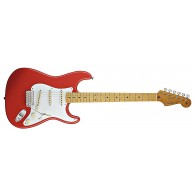 FENDER CLASSIC SERIES 50S STRATOCASTER FIESTA RED MAPLE