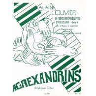 LOUVIER A. AGREXANDRINS VOL 3 PIANO