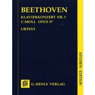 BEETHOVEN L. CONCERTO N°3 OP 37 PIANO ET ORCHESTRE CONDUCTEUR