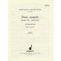 GRANADOS E. DANSE ESPAGNOLE VIOLON