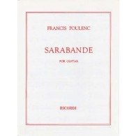 POULENC F. SARABANDE GUITARE