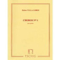 VILLA-LOBOS H. CHOROS N°1 GUITARE