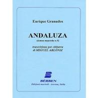 GRANADOS E. ANDALUZA GUITARE