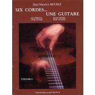 MOURAT J.M. SIX CORDES UNE GUITARE VOL 2