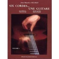 MOURAT J.M. SIX CORDES UNE GUITARE VOL 3