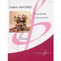 MACAREZ F. UN PAS DE PLUS VOL 2 PERCUSSION