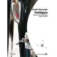 SAUVAGE D. VOLTIGES PERCUSSION