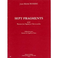 BOSSINI J.M. FRAGMENTS BASSON
