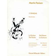 PARISON M. 5 DANZAS GUITARE