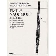 NAOUMOFF E. ELEGIES BASSON