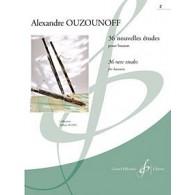 OUZOUNOFF A. 36 NOUVELLES ETUDES VOL 2 BASSON