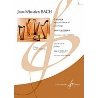 BACH J.S. 6 SUITES VOL 2 HARPE