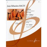 BACH J.S. 6 SUITES VOL 1 HARPE