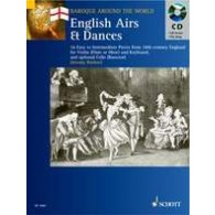 ENGLISH AIRS AND DANCES HAUTBOIS OU FLUTE OU VIOLON