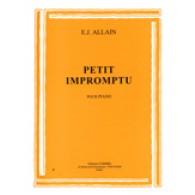 ALLAIN E.J. PETIT IMPROMPTU PIANO