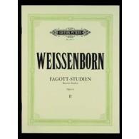 WEISSENBORN C.J. BASSOON STUDIES OP 8 VOL 2 BASSON