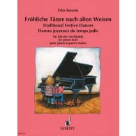 EMONTS F. TRADITIONAL FESTIVE DANCES PIANO 4 MAINS
