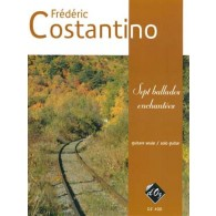 COSTANTINO F. BALLADES ENCHANTEES GUITARE